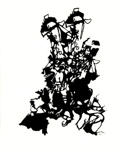 Briony Barr, 'Ink Drawing', 2008