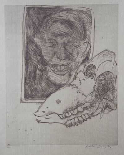 Arthur Boyd, 'Untitled (Portrait and Skull) ', 0000