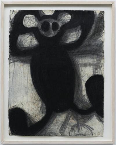 Joyce Pensato, 'Mickey Fried Up', 1990