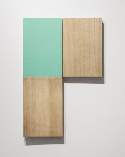Susumu Koshimizu, 'Paulownia and Green 桐與青綠', 2018