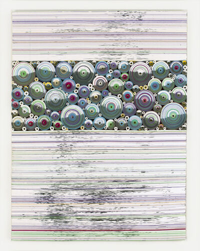 Hadieh Shafie, 'Saayeha & Ink Stained Pages', 2017