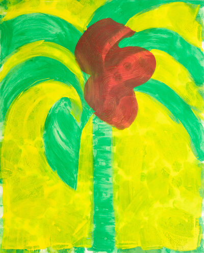 Howard Hodgkin, 'Flowering Palm', 1991