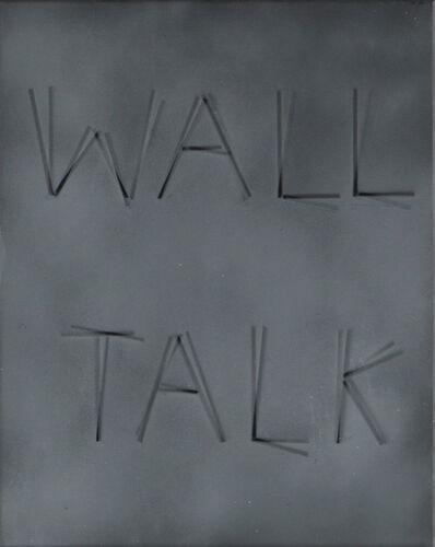 Scott Reeder, 'Untitled (Wall Talk) grey', 2012