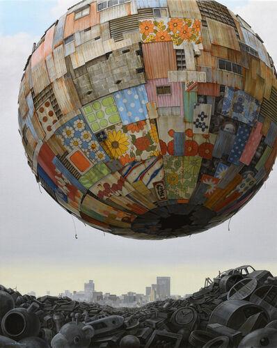 Masakatsu Sashie, 'Merry Go Round', 2020