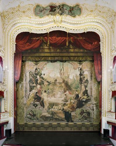 David Leventi, 'Gustav Klimt Painted Curtain, Municipal Theatre, Karlovy Vary, Czech Republic', 2020