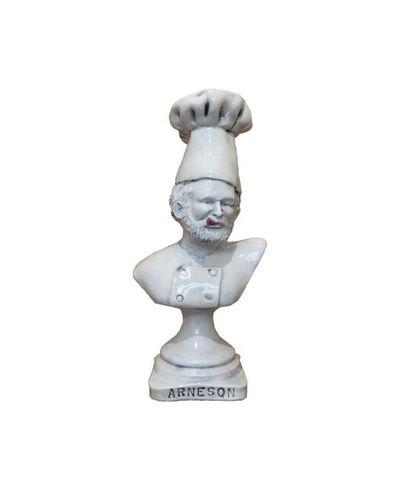 Robert Arneson, 'Souvenir #5 (Smorgi-Bob Trophy), Bob as Chef', ca. 1972