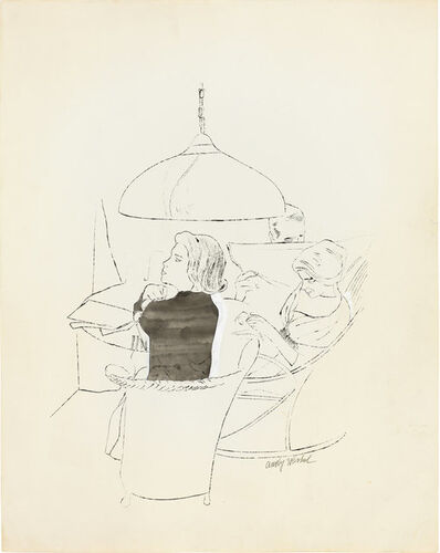 Andy Warhol, 'Ohne Titel', ca. 1958