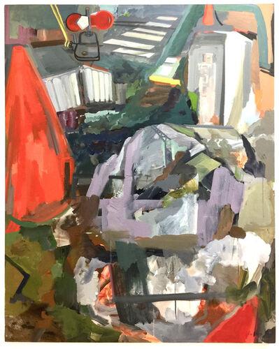 Rebecca Allan, 'Construction Site with Railroad Manual Switch', 2018