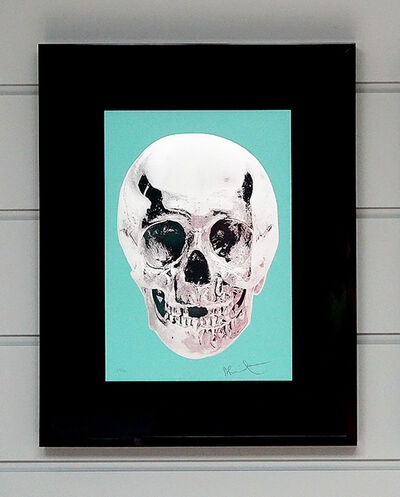 Damien Hirst, 'Skull, Turquoise/Emerald Green', 2012