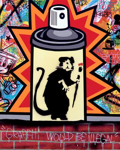 Speedy Graphito, 'Banksy Spray Can', 2020