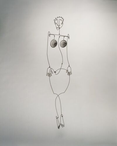 Alexander Calder, 'Aztec Josephine Baker', 1930