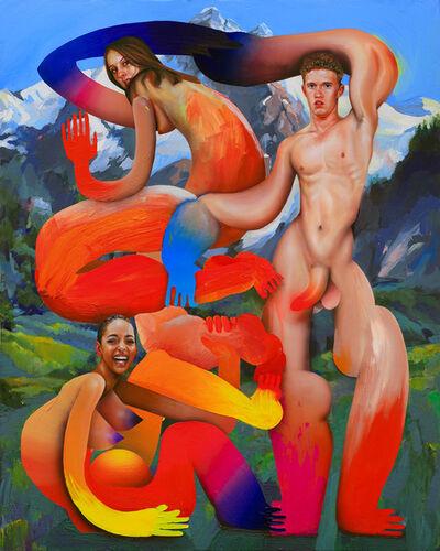 Erik Jones, 'Mason, Ayse, Jasmine', 2019