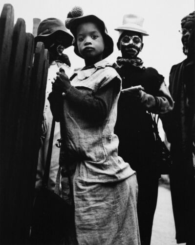 Yasuhiro Ishimoto, 'Halloween, Chicago', 1951-printed 1950s