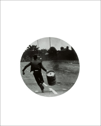 Adam Broomberg & Oliver Chanarin, 'Untitled (Boy running with barrel)', 2010