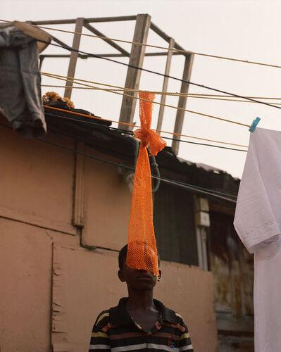 Daragh Soden, 'Orange Net and Boy, Accra, Ghana 2018', 2018