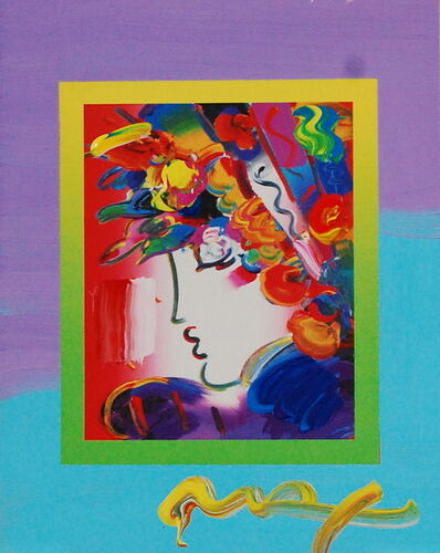 Peter Max, 'Blushing Beauty on Blends (Ref. # 2239)', 2007