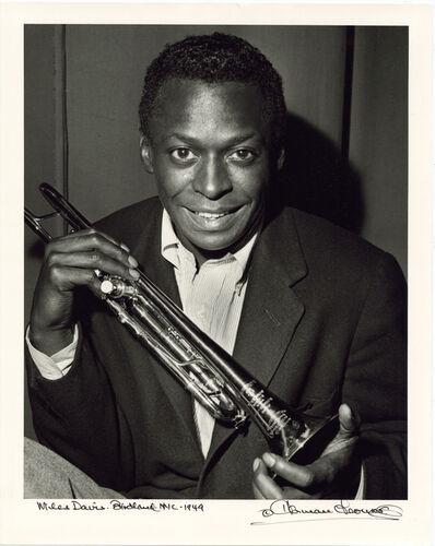 Herman Leonard, 'Miles Davis, Birdland, New York, 1949', 1949