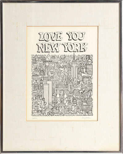 Tony Graham, 'Love You, New York', 1978