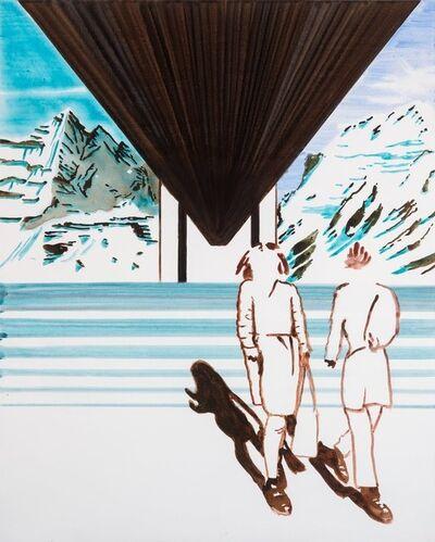 John Kørner, 'Touring Under the Bridge Between Mountains', 2020