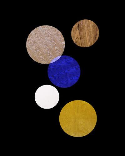 Alejandra Laviada, 'Blue, Yellow, White Circles,', 2014