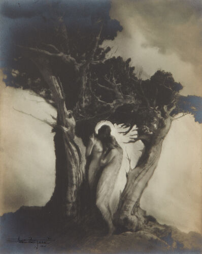 Anne Brigman, 'The Heart of the Storm', 1910