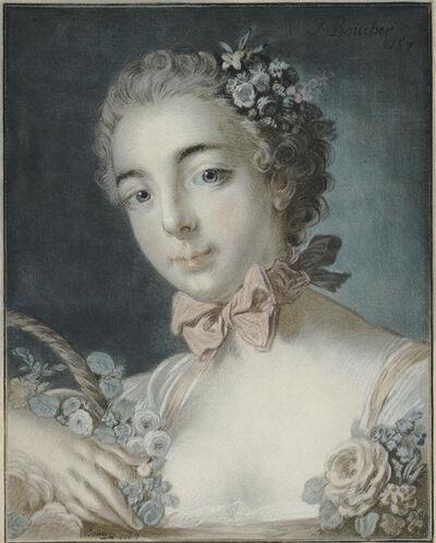 Louis-Marin Bonnet, 'Tête de Flore (Head of Flora)', 1769
