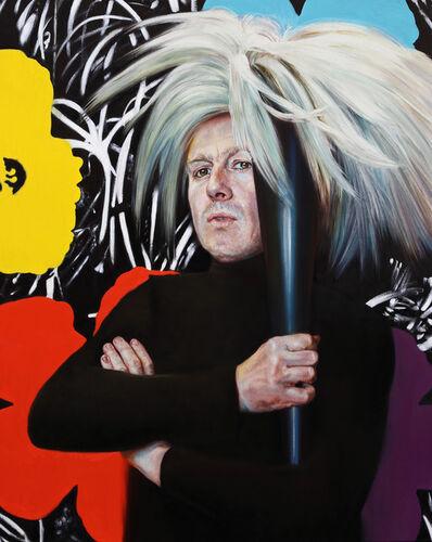 Gaël Davrinche, 'Self portrait as Andy', 2016