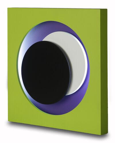 Geneviève Claisse, 'Cercles vert', 1968-2014