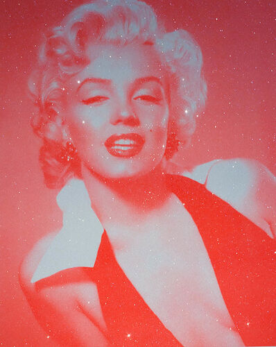 David Studwell, 'Marilyn Monroe, Neon Red', 2017-2019