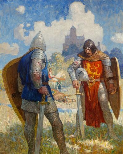 N.C. Wyeth, 'The Boy's King Arthur', 1917