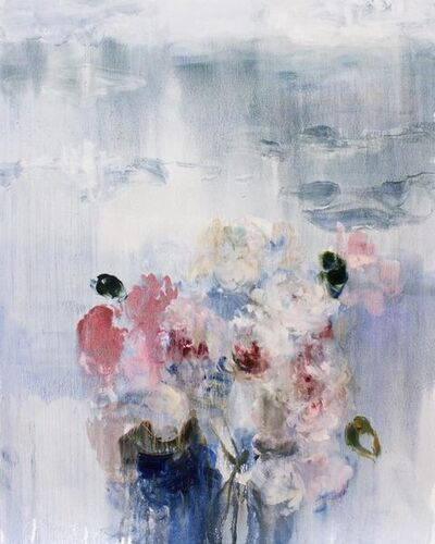 Darlene Cole, 'Lake (Love Notes, Roses and Peonies)', 2019
