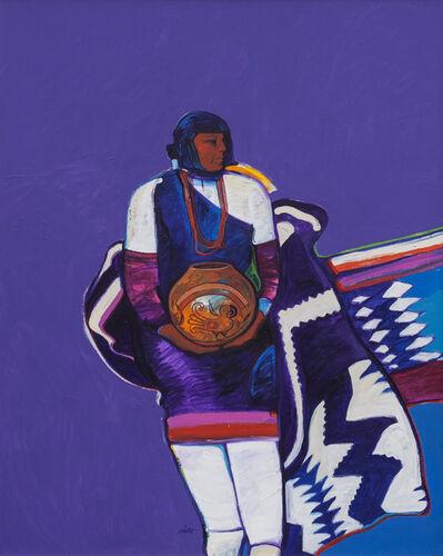 John Nieto, 'Indian Woman with Pot', 1992
