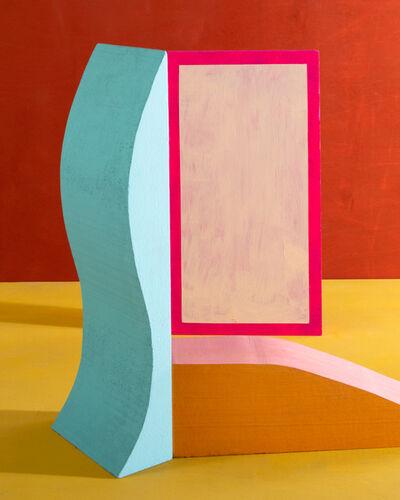 Erin O'Keefe, 'Blue Push', 2020