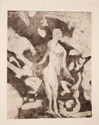 Ernst Ludwig Kirchner, 'Nackte Frau an der Quelle', 1920