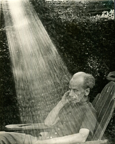 Hans Namuth, 'Joseph Cornell at Home in New York', 1969