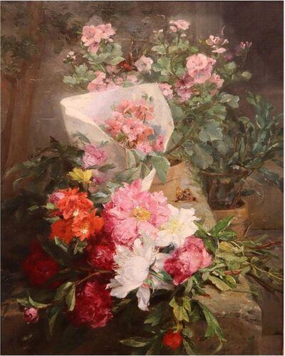 Antoine Grivolas, 'Spring Flowers', 19th Century