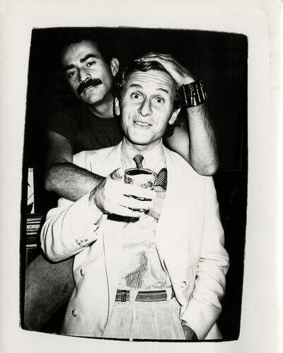 Andy Warhol, 'Thomas Ammann with Victor Hugo ', ca. 1980