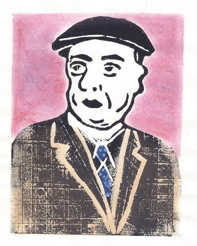 Afsoon, 'Pablo Neruda, Chile', 2015-2016