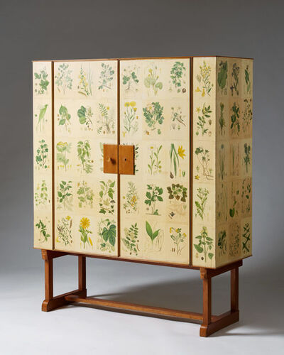 "Josef Frank, 'Cabinet ""Flora"" for Svenskt Tenn', 1930-1939"