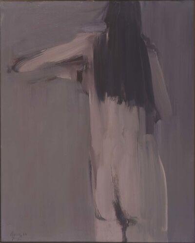 fermin aguayo, 'Nude Rose', 1962