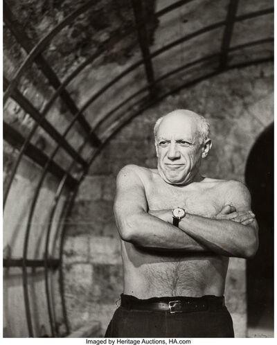 André Villers, 'Picasso', 1955