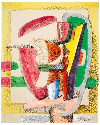 Le Corbusier, 'Composition - Design for a sculpture', 1941