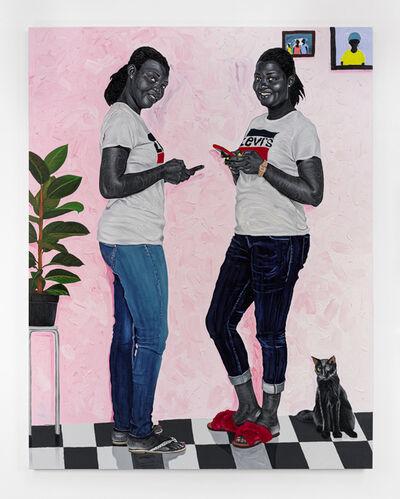 Otis Kwame Kye Quaicoe, 'Miriam & Mabel', 2021