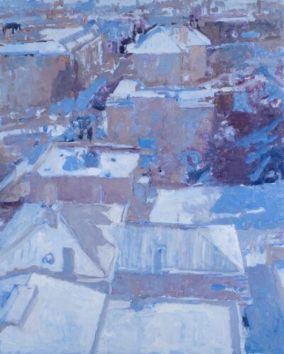 Annie Harris Massie, 'Snowy View from Allied Arts Building', 2018