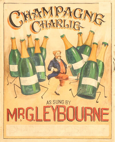 Unknown European, 'Champagne Charlie', 20th Century
