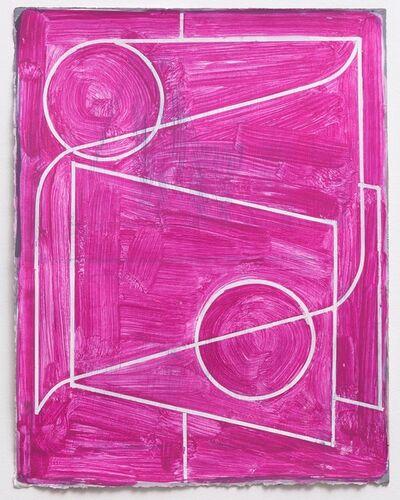 Caleb Taylor, 'Untitled (Study for Land/Mark - Magenta I) ', 2018