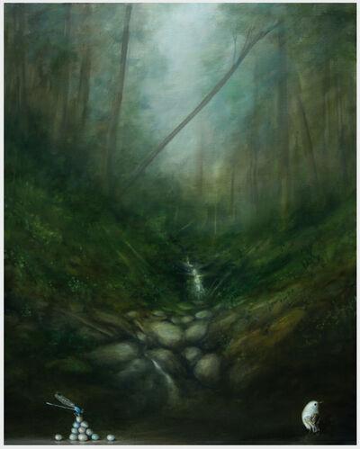 David Kroll, 'Woodland Landscape (Eleven Eggs)', 2019