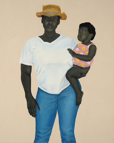 Amy Sherald, 'Mother and Child', 2016