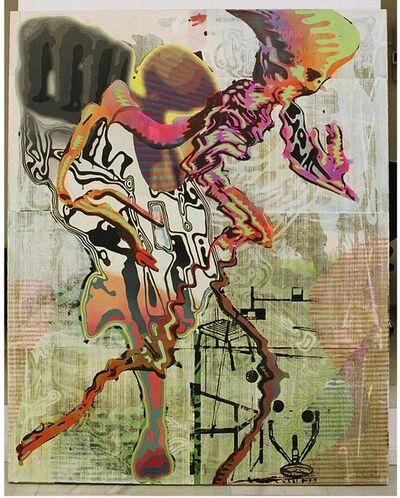 Markus Oehlen, 'Untitled (Atelierszena)', 2002