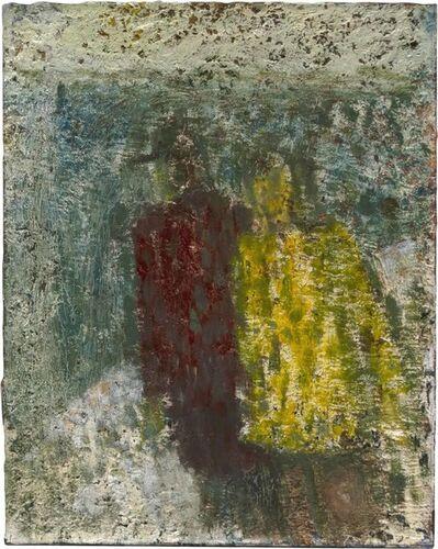 John Lees, 'Winter Painting (Two Figures)', 2019
